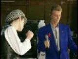 Rehearsal- Annie Lennox and David Bowie with Queen- Under pressure