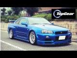 Топ Гир (Гран тур) Обзор Ниссан Скайлайн / Top Gear Дест Драйв Nissan Skyline