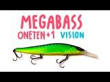 Megabass oneten +1 SP   Fishing Lures Review   Обзор воблера