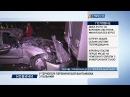 ДТП у Києві: легкова автівка в'їхала у вантажівку