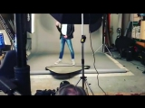 Тарьей () на фотосессии к мюзиклу Норвежский Бриолин