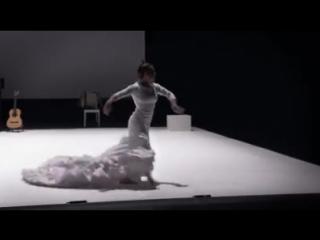 Rocio Molina con bata