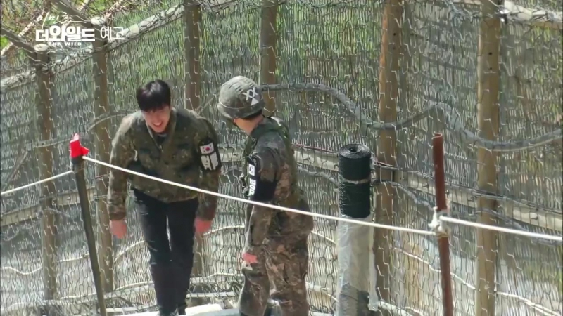 Behind scenes of documentary, DMZ the wild