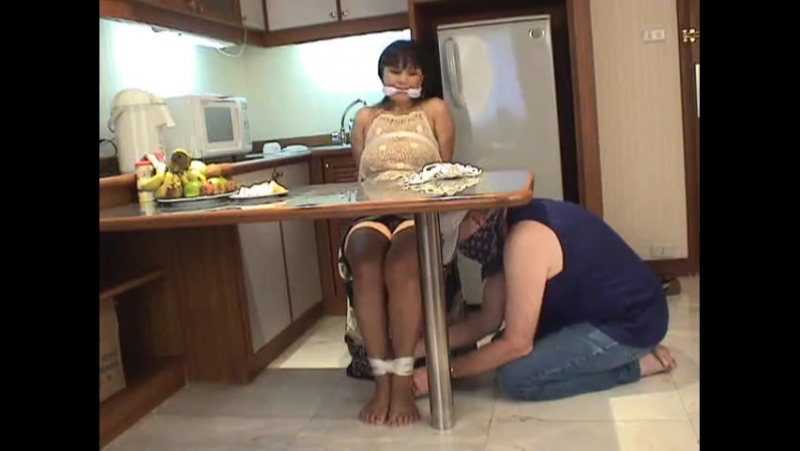Asian Housewife Home Invasion