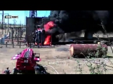 Подрыв ЛЭП в ЛНР украинскими диверсантами - видеоотчет для кураторов
