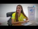 Молодая киноактриса Динара Бактыбаева вступила в ряды волонтеров Универсиады 2017