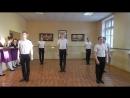Элементы русского народного танца на середине, (Вращения, мужские присядки, хлопушки).