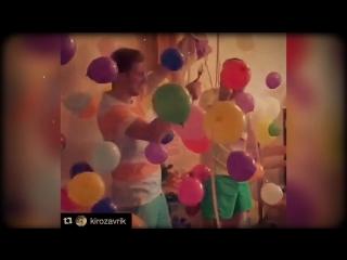 Взрыв шар-сюрприза на дне рождения! Заславль!375295526701