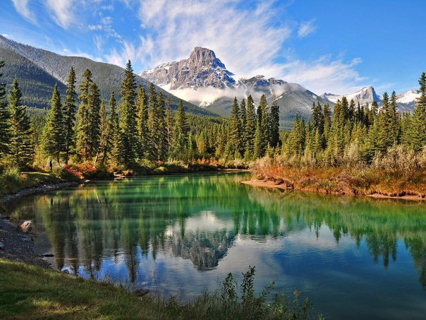 Изобилие красок природы. Канада.