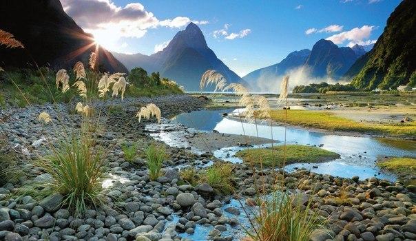 Фьорд Милфорд Саунд, Новая Зеландия
