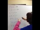 Девочка считает быстрее калькулятора. Ментальная арифметика ALOHA Mental Arithmetic