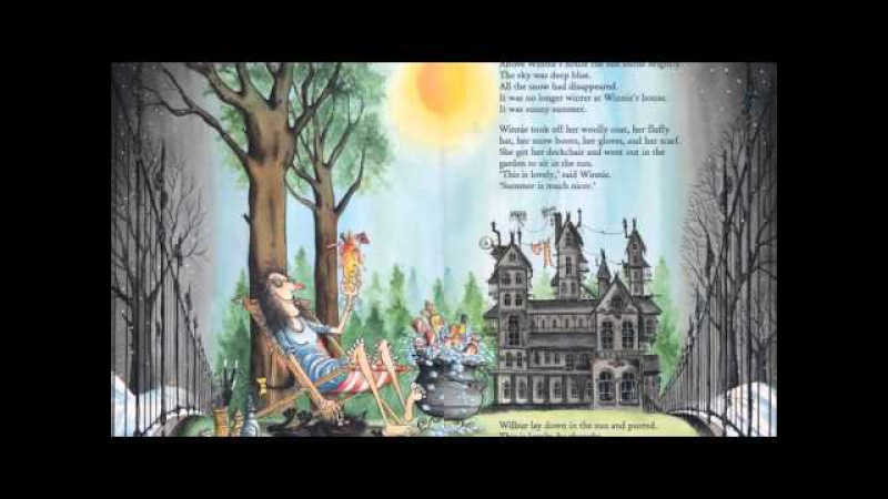 Winnie the witch Winnie in winter Audiobook Nursery Rhymes Children's books Fairy Tales