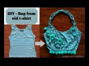 DIY - Bag from old t-shirt | Recycle old cloths | Easy step-by-step Tutorial