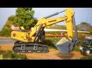 Super Bagger und Autos - Straßenbau - Erstellen Sie neue Straßen - Bagger Kinderfilm Deutsch 2017