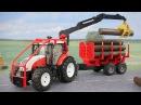 Мультик про Трактор и Экскаватор на дороге - Видео для детей