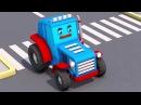 !De la vida en la cuidad! con los TRACTORES para niños - Pequeño Tractores y Transporta vehículos
