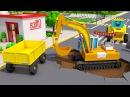 СБОРНИК Машинки Мультики! Мультфильмы для детей про Экскаватор Трактор и Грузов