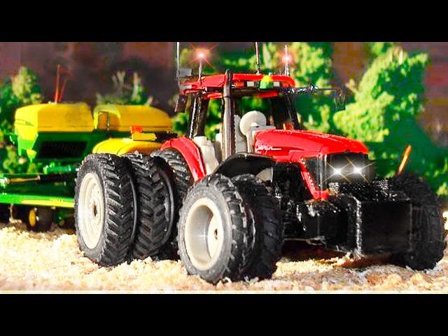 Kleiner Roter Traktor gebrochen - Alles hilft den Traktor - Animierter Zeichentrick in deutsch