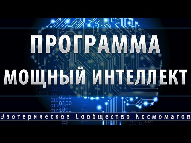 Программа Мощный Интеллект [Школа Космомагов Игоря Андреева]