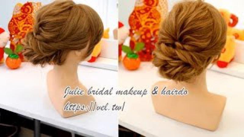 過年簡易髮型教學 Simple updo hairstyle