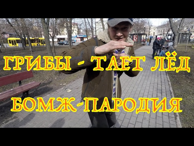 ГРИБЫ - ТАЕТ ЛЁД / БОМЖ ПАРОДИЯ [ vk.com/CINELUX ]