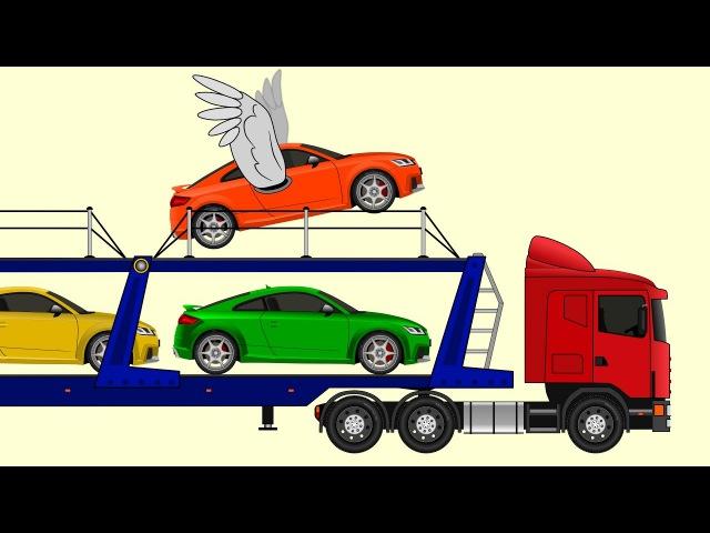 Мультфильм стихотворение про автовоз