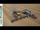 BIG Harvest 2017 : New Holland CR9.90 Mac Don 12.20m !