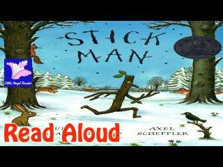 Kids' English | Stick Man by Julia Donaldson Read Aloud / Axel Scheffler / Must have /Santa / Family /Modern Classic