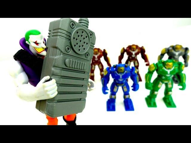 Джокер сорвал ОБЗОР новых РОБОТОВ. Железный Человек спасает Человека Паука. Игр...