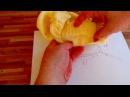 Летний джемпер или туника Желтая нежность / Часть 1 - Начало, распределение пете