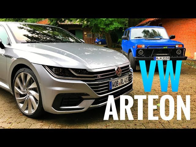Тест VW ARTEON 280 сил - самый крутой VOLKSWAGEN!) Подробный обзор новинки 0-100 км/ч и Нива!)