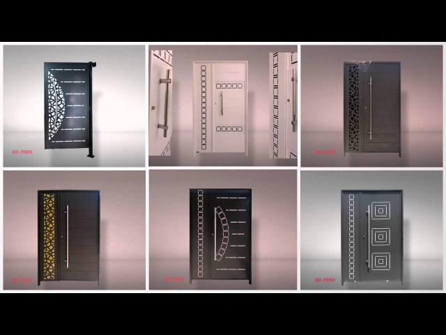 SEF-TUNISIE : Portes en découpe laser