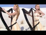 METALLICA - Enter Sandman (Harp Twins + Drums) Camille and Kennerly
