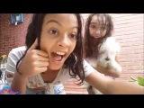 ❤ Desafio fale qualquer coisa com balão dágua ❤ - Giovanna Ruggio