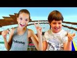 Видео #Майнкрафт Игра ТНТ Ран/TNT Run 🏃 БЕГИ или ПРОИГРАЛ! Адриан и #ЛучшаяПодружка ...