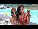 170706 [1] 최군  HOT Sexy 걸그룹레이샤 Bikini 화보 촬영장 초대받다?! - KoonTV