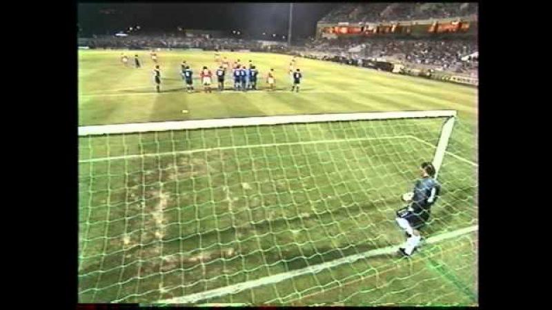 Sc Bastia- Benfica Lisbonne UEFA 97'