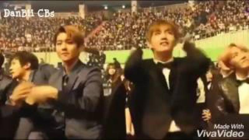 Khi V (BTS) Và Baekhyun Tăng Động Cùng Nhau