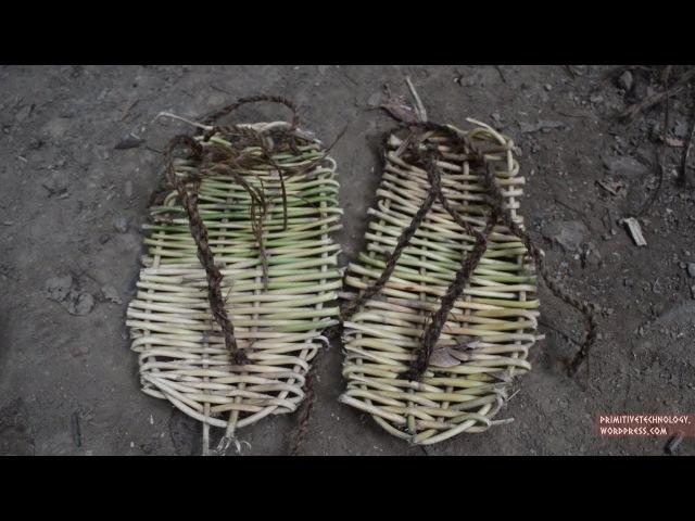 Primitive Technology: Sandals