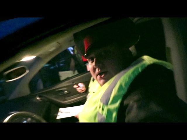 Таксист Русик. Ночь в патрульной машине