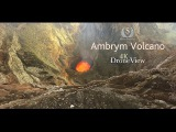 Ambrym Volcano in 4K DroneView