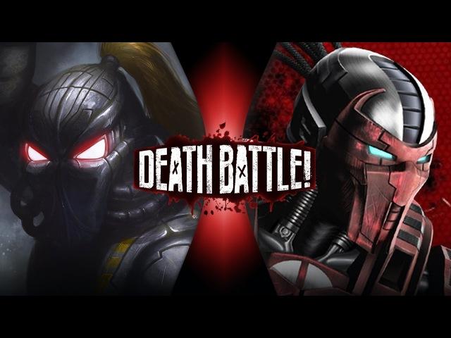 Fulgore VS Sektor (Mortal Kombat VS Killer Instinct)   DEATH BATTLE!
