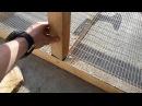 Клетка для кроликов пошаговая постройка