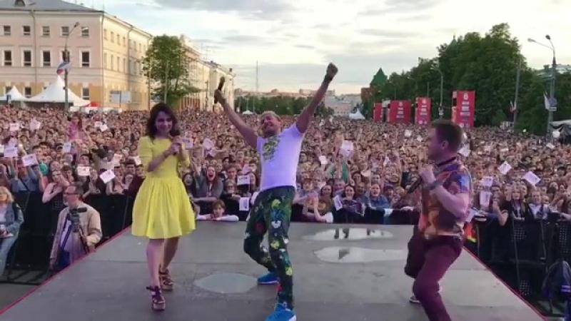 Бригада У на Европе Плюс - С днем рождения, Нижний!