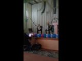 Отчетный концерт в музыкальной школе. Я играю на аккордеоне