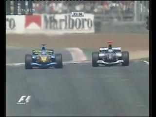 F1 2004. Гран-при Испании. Гонка