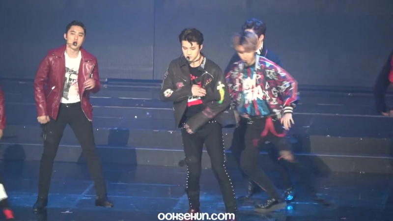 [FANCAM] 170119 EXO's Sehun - Lucky One @ Seoul Music Awards