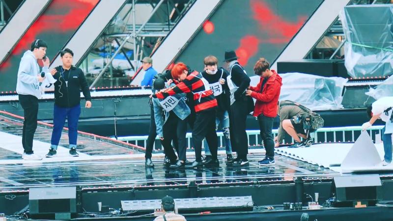 [4k Fancam⁄직캠]161023 방탄소년단(BTS) - Blood, Sweat Tears (피땀눈물) 드라이 리허설@부산 원아시아 드림콘서트
