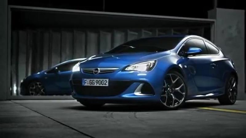 HD Opel Astra J OPC mit 280PS ab März Offizieler Trailer Opel Deutschland