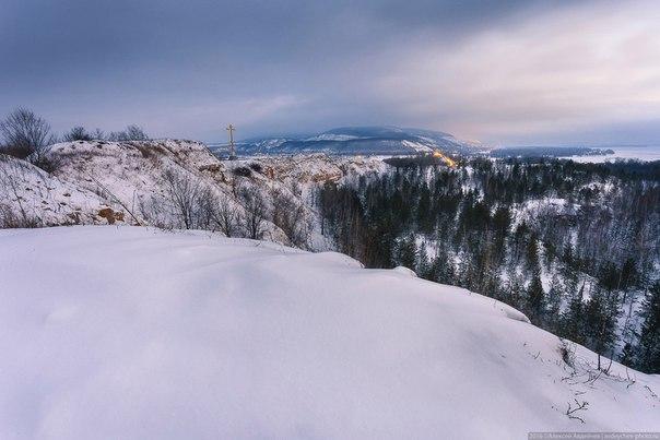 Царёв курган зимой    Фото: avdeychev_photo